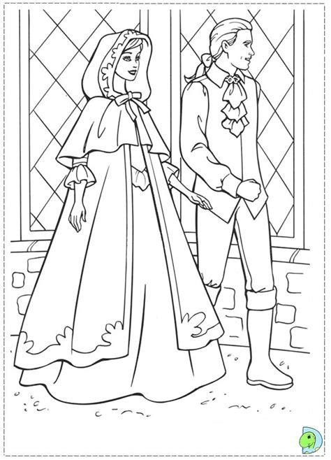 Barbie Princess And Pauper Printable Coloring Pages Princess And The Pauper Free Coloring Sheets