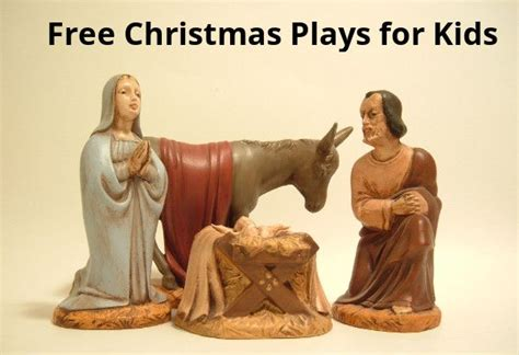 christmas play script jesus kids plays for church free