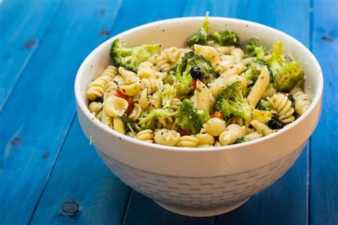 pasta salda zesty italian pasta salad yellow bliss road