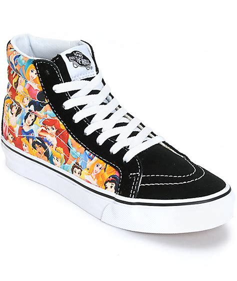 disney shoes for disney x vans sk8 hi slim disney princess shoes