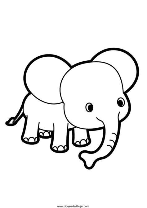 imagenes de elefantes faciles para dibujar dibujos de elefantes para colorear e imprimir 1 de 2