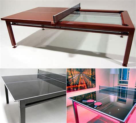 nottage design mesa de bilhar e ping pong ao mesmo tempo