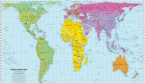 map world real size peters vs mercatore qual 232 la vera carta geografica
