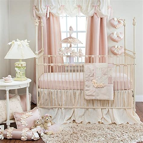 glenna jean crib bedding glenna jean ribbons roses crib bedding collection bed