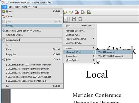 convert pdf to word acrobat x can i convert pdf to word in acrobat todaydirectlc over