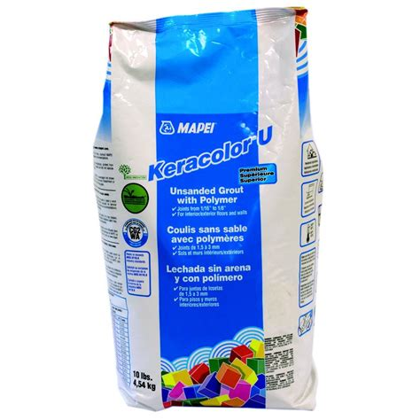 mapei keracolor u 10 lb premium unsanded grout with polymer lowe s canada