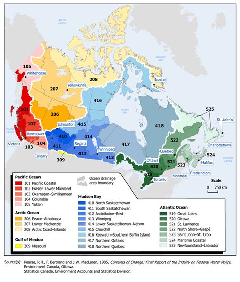 where to buy water in canada drainage areas and drainage regions