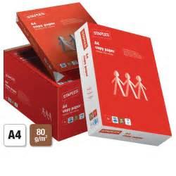 How To Make Copy Paper - staples a4 80 gsm copy paper white 5 ream box staples 174