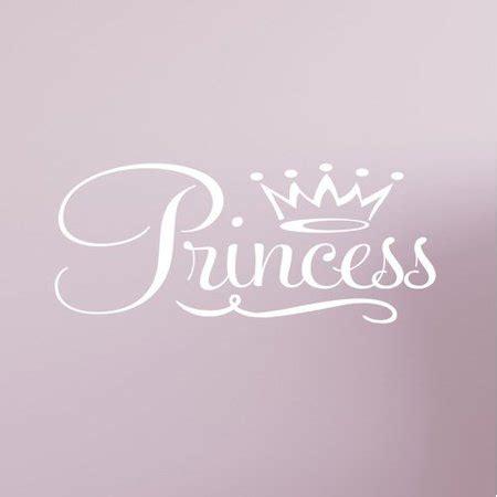 innovative stencils princess crown vinyl nursery wall