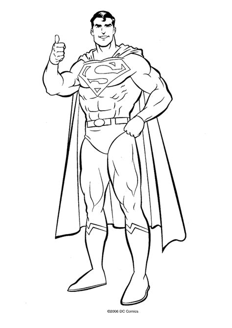 Superman Coloring Pages Coloring Pages To Print Superman Coloring Pages Free