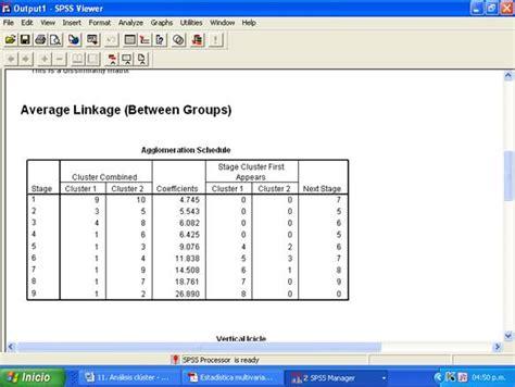 tutorial spss analisis cluster an 225 lisis cl 250 ster aplicado al sector hotelero monografias com