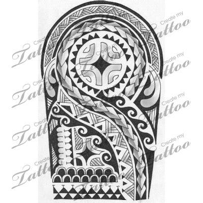 maori polynesian warrior sleeve stencil polynesian designs search inspiration