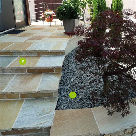 terrasse quartzite jaune terrasse en quartzite jaune zimerfrei id 233 es de