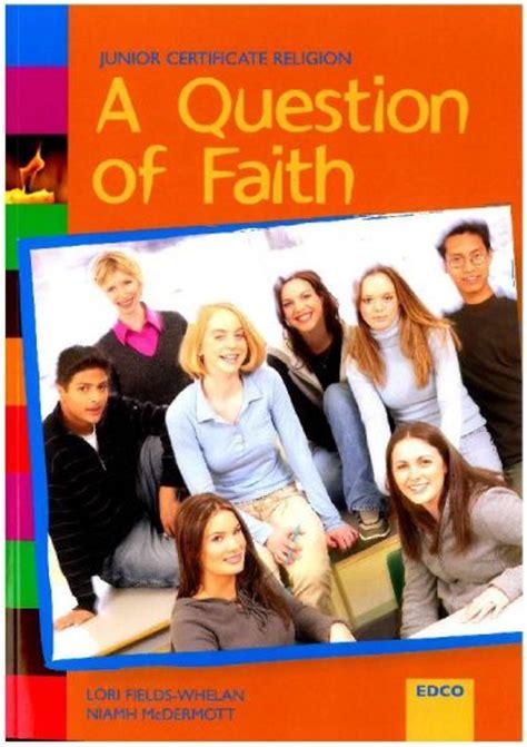 a question of faith a question of faith