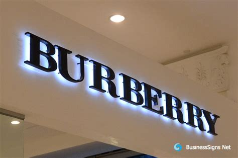 No Backlite Led Sign 3d led backlit signs with painted stainless steel letter