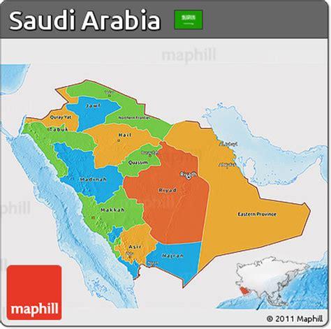 saudi arabia political map free political 3d map of saudi arabia single color