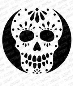 pumpkin carving stencils day of the dead google search