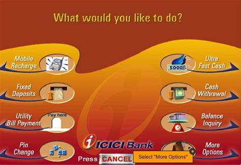 icici bank mobile how to register for icici sms mobile banking services step