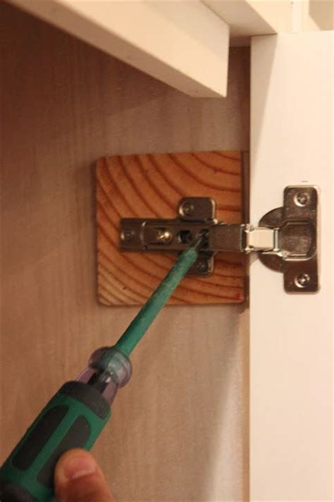 Fitting Hinges To Cupboard Doors diy built ins series how to install inset cabinet doors