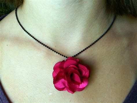 how to make flowers into jewelry tip 8 fabric flower jewelry organize and