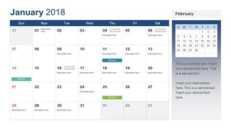 excel calendar template 2018 army markone co