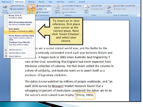 formatting apa style in word apa referencing in microsoft word 2007