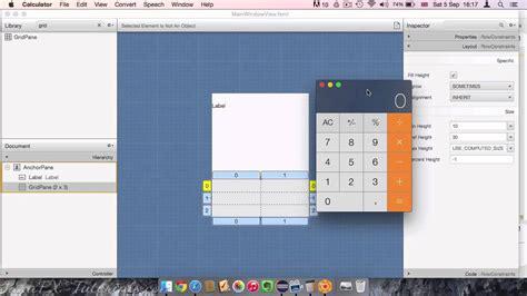 calculator javafx java programming tutorial beautiful calculator design