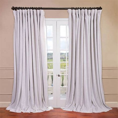 white blackout curtains 84 signature doublewide off white 100 x 84 inch blackout