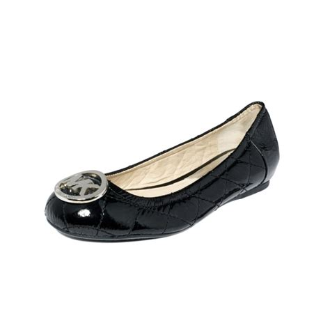 Michael Kors Fulton Quilted Ballet Flats by Michael Kors Fulton Quilted Ballet Flats In Black Black