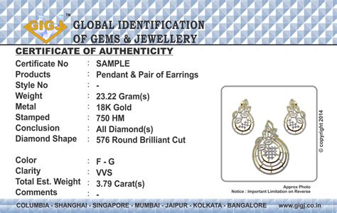 jewelry design certificate programs nyc jewelry certificate of authenticity sle image