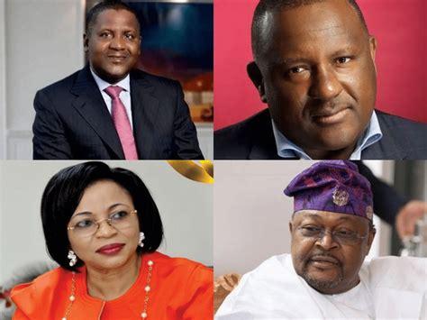 dangote three other nigerians make forbes list of black billionaires
