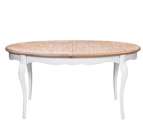 tavolo ovale bianco tavolo allungabile ovale decapato shabby