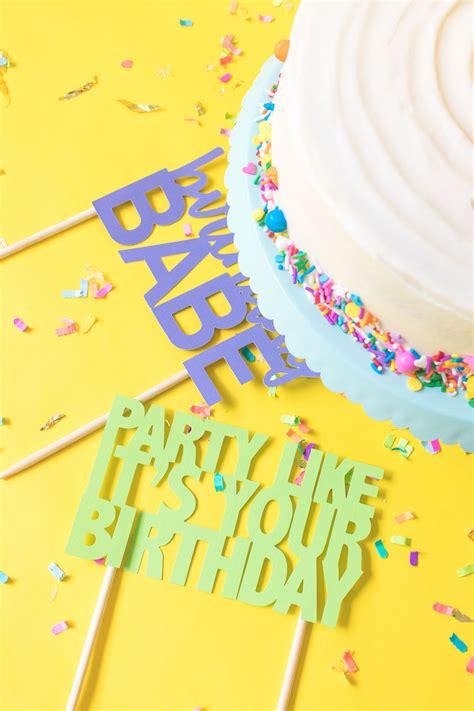 printable cake toppers printable cake toppers for birthdays free svg templates