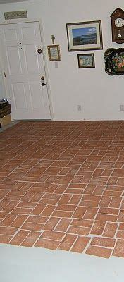1000  images about faux brick floors on Pinterest