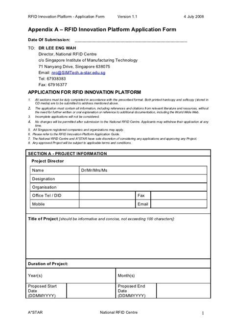 section 61 application form appendix a application form version 1 1 doc