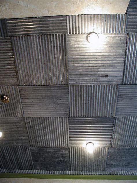 corrugated metal ceiling drop ceiling tiles ceiling