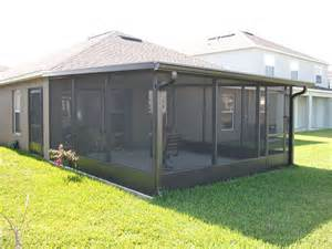 Outdoor Screen Room by Jacksonville Screen Room Screen Porches Sun Room Builder