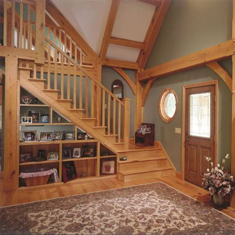 Living Room Stairs Ideas by Stair Storage
