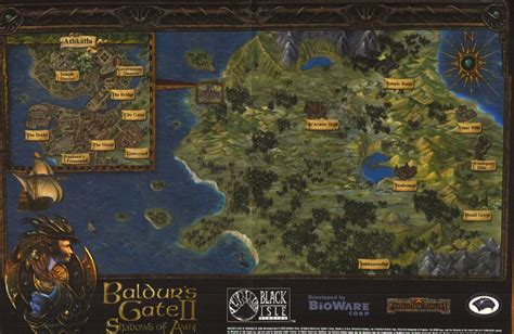baldur s gate map request does anyone a baldur s gate 2 paper map