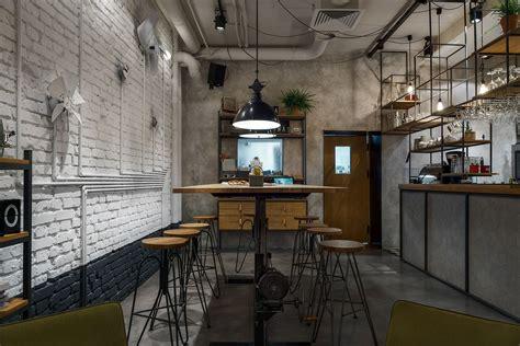 design cafe industrial gł 243 wna osobowa bar by pb studio and filip kozarsk your