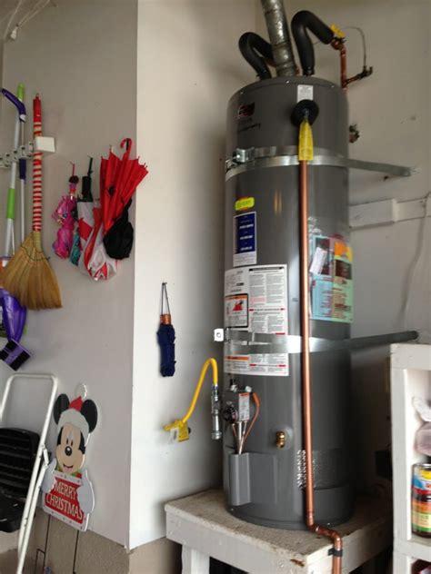 Csr Plumbing San Diego by Water Heater With Code Upgrades Gas Valve Gas Flex Drip
