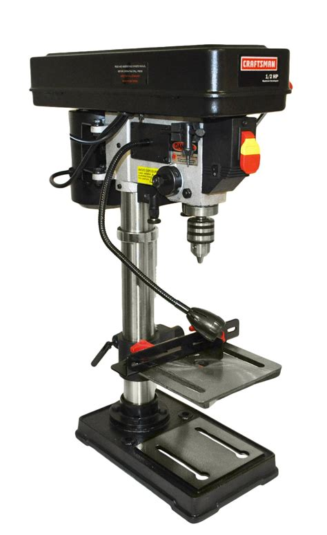 bench drill press craftsman zj4113z 10 quot bench drill press with laser