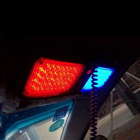 super bright led strobe lights super bright 86 leds emergency light sun visor strobe led