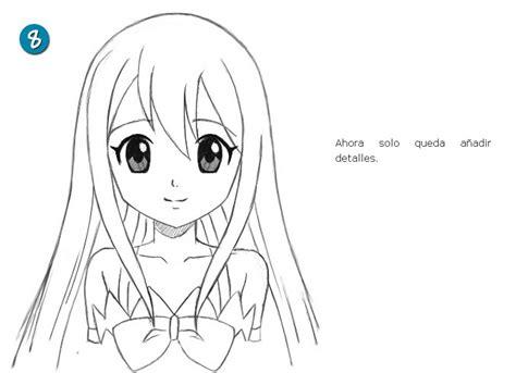 imagenes anime faciles de dibujar aprende a dibujar anime tutorial manga y anime taringa