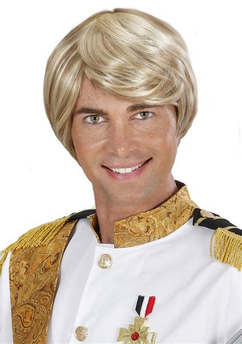 prince charming prince charming costume wig for by widmann g0745