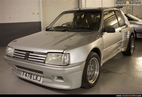 peugeot for sale peugeot 205 gti dimma performance trackday cars for