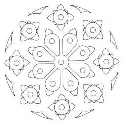 free amp easy printable mandalas coloring pages