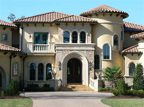 Tuscan Architecture Tuscan Architecture Exterior Mediterranean With