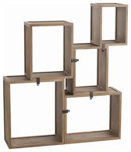 wall display shelves arteriors home stockard oak modular shelves 5353