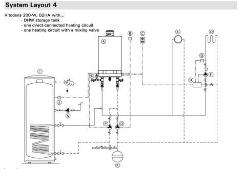 Viessmann Vitodens 100 Wiring Diagram